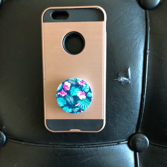 iphone 6 case with pop socket